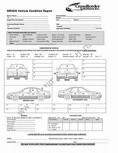 vehicle condition report templates word excel samples With vehicle damage report form template