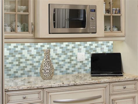 Mosaic Tile Kitchen Backsplash : Wonderful White Mosaic Tile Backsplash