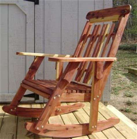 pdf diy cedar rocking chair plans carpentry plans