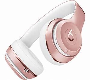 Buy BEATS Solo 3 Wireless Bluetooth Headphones - Rose Gold ...  Beats
