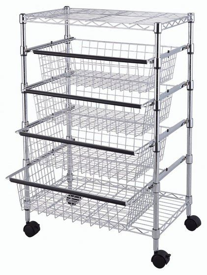 kitchen rack storage tp 2475 5 tier wire rack drawer chrome id 9061532 product 2475