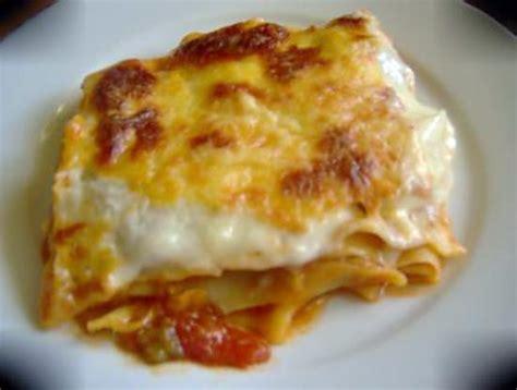 recette de cuisine sans viande recette de lasagnes a la ratatouille