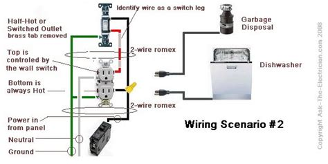 how to wire a garbage disposal search electrical