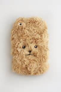 Fuzzy Teddy Bear iPhone Case