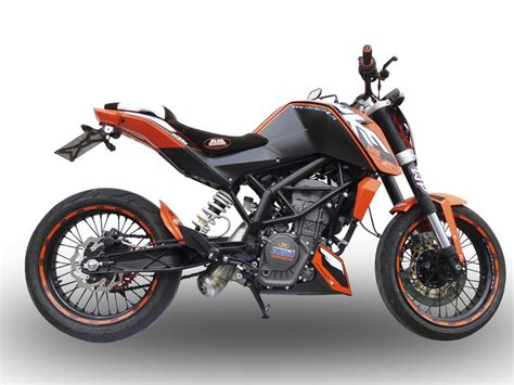 pot d echappement silencieux gpr powercone inox ktm duke 125 11 14 ebay