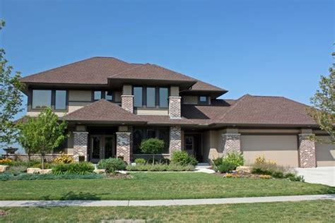 prairie style home plans prairie style house plans craftsman home floor plan