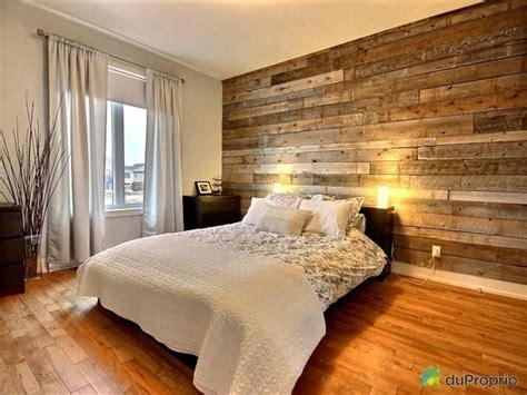 deco chambre bois mur de bois déco maison chambres pots et