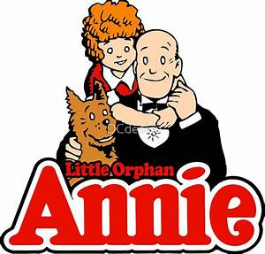 """""""Little Orphan Annie"""" Stickers by DCdesign Redbubble"""