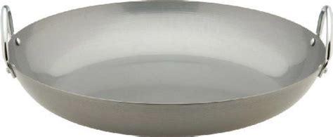 typhoon paella pan   typhoon   flat bottomed paella pan  constructed