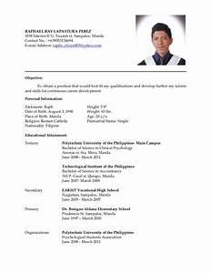 latest resume With latest resume sample