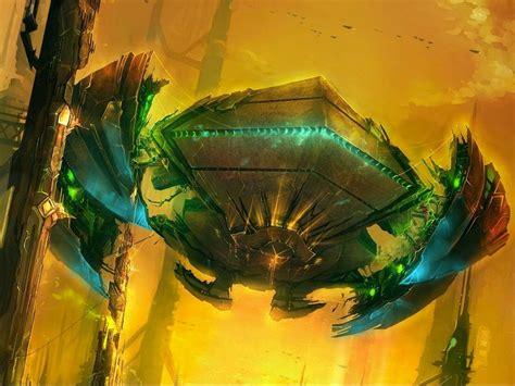 spaceship, Ship, Futuristic, Space, Art, Artwork ...
