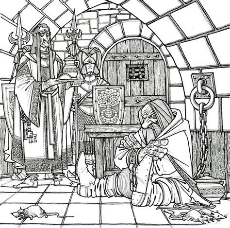 hobbit coloring pages    print