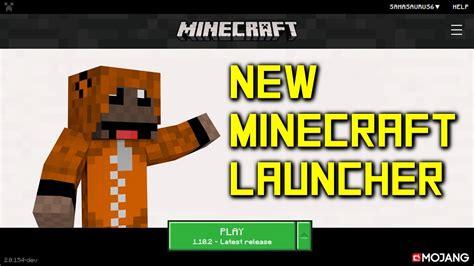 New Minecraft Pc Launcher! Youtube