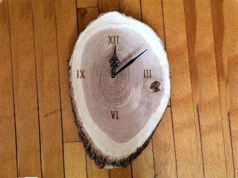 inventorartist wood clock