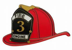 Firefighter clipart fireman helmet - Pencil and in color ...