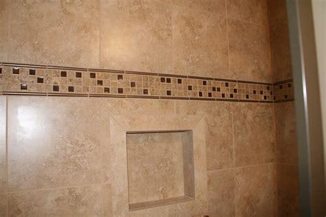 bathroom borders ideas custom tile accent band