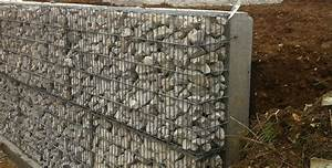 Mur En Gabion : habillage de mur gabions ~ Premium-room.com Idées de Décoration