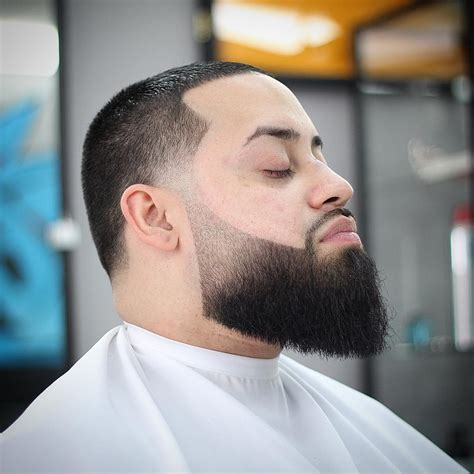 beautiful full beard fade menhairdos