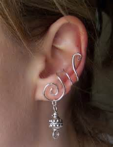 wire ear cuffs simple ear cuff by liquidsilver1 on deviantart