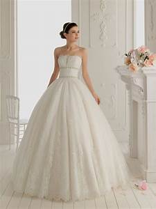 strapless lace wedding dress ball gown naf dresses With strapless lace wedding dress