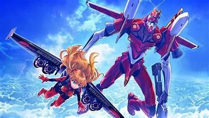 Evangelion Neon Eva Genesis Anime Asuka Unit