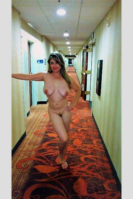 Naked Wives In Hotel Hallways
