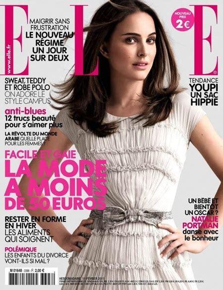 Elle France Natalie Portman Photographer Mark Seliger