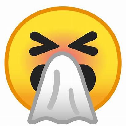 Sneezing Face Icon Emoji Google Icons Cara