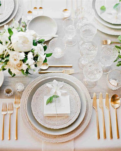 square glass centerpieces 36 gold wedding ideas martha stewart weddings