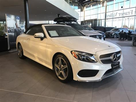 C300 4matic sedan model year: New 2018 Mercedes-Benz C300 4MATIC Cabriolet Convertible in Langley #8B4522 | Mercedes-Benz Langley