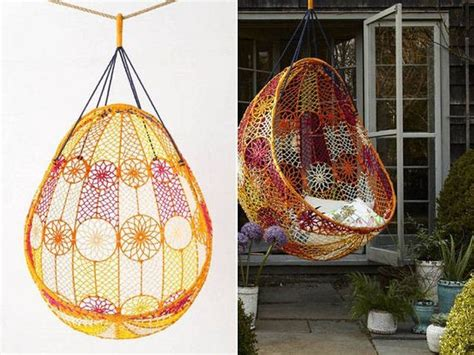 knotted melati hanging chair motif amazing macrame diy tutorials