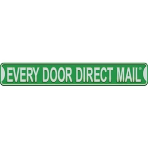 every door direct every door direct mail logo vector logo of every door