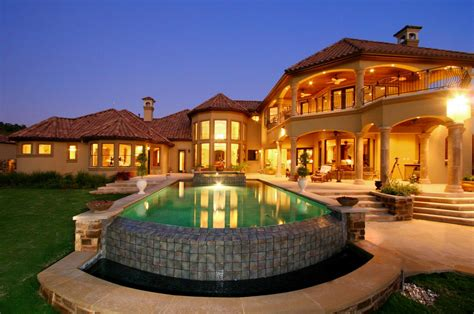 Mediterranean Home : Mediterranean House Plans With Pools