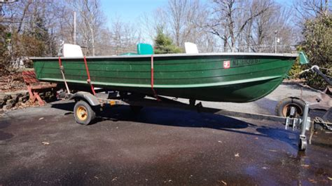 Aluminum Boats For Sale In Nj by Starcraft Aluminum Boat 14 Foot For Sale In Stanhope New