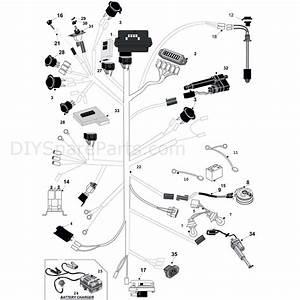 Westwood 2011 Kawasaki Models  2011  Parts Diagram  H E  Wiring Loom