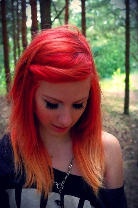 14 Fabulous Orange Hairstyles My Hair Fire Hair And