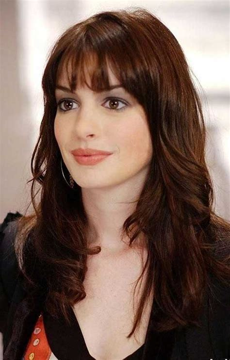 Hairstyles For With Fringe by 28 Best Fringe Hairstyle Ideas To Inspire You