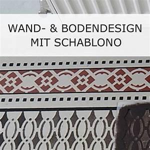 Schablonen Für Die Wand : wand und bodendesign nach historischem abbild schablono ~ Watch28wear.com Haus und Dekorationen