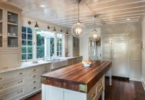 Drop Lights For Kitchen Island Cottage Kitchen With Farmhouse Sink Wood Counters In Santa Barbara Ca Zillow Digs Zillow
