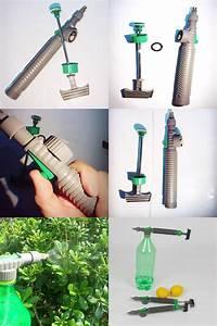 Visit To Buy  Home Garden Manual Water Gun Adjustable