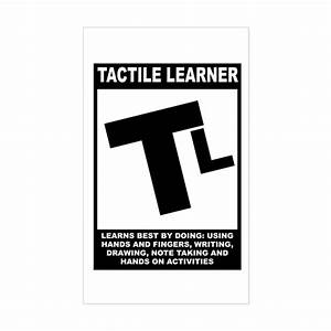 Tactile Learner Rectangle Decal by forspecialneeds