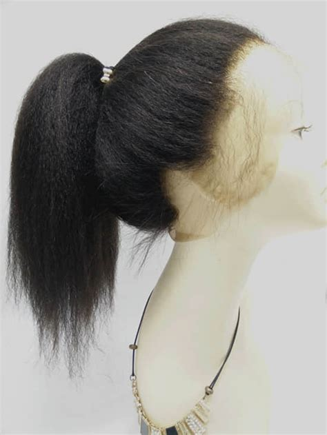 brazilian virgin  lace frontal closure kinky straight