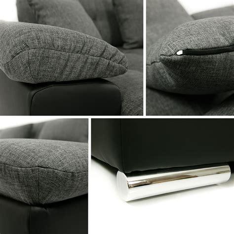 canapé chloé design canapé panoramique convertible microfibre clea design