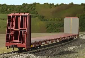 Ho Trainman Bulkhead Flat Car  Ho Scale Trainman