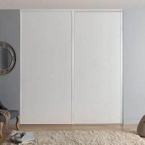 Porte Placard Coulissante Castorama : porte de placard coulissante blanche form valla 92 2 x 245 ~ Farleysfitness.com Idées de Décoration