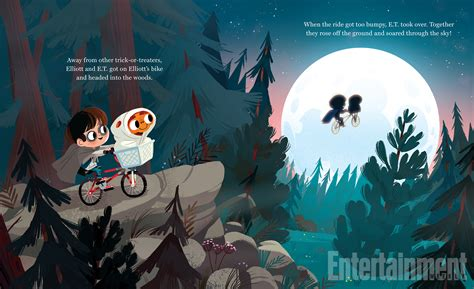 'e.t. The Extra-terrestrial' Story Brought To Life In An