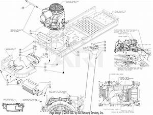 Troy Bilt 17andald066 Mustang Xp 60  2016  Parts Diagram