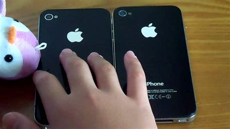 how can i tell what of iphone i iphone vs real iphone 4