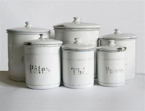 enamel kitchen canisters 173 best images about vintage canisters on