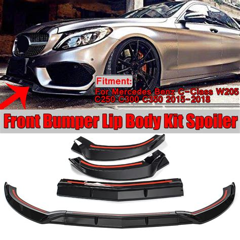 Check prices & reviews on aftermarket & stock parts for your 2020 c300 engine oil. 1 set Front Bumper Lip Body Kit Spoiler(Including Accessories), For Mercedes C-Class W205 C250 ...